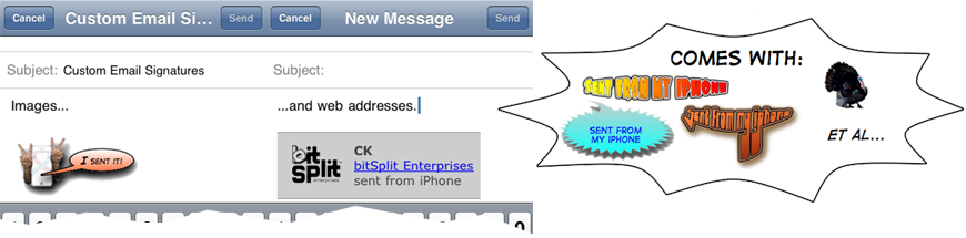 how to add custom signature to aol mail